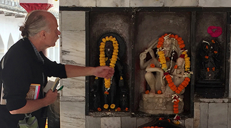 Rob Linrothe in India